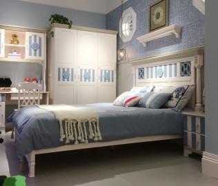豆丁庄园,单层床,儿童家具