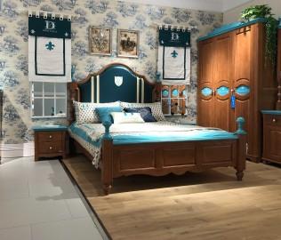 豆丁庄园,单层床,卧室家具