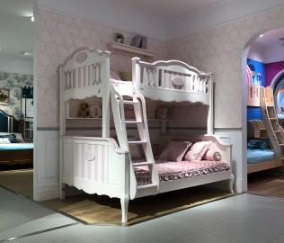 豆丁庄园,上下床,儿童家具