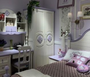 豆丁庄园,二门衣柜,儿童家具