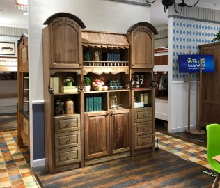 洛可小城,双门书柜,儿童家具