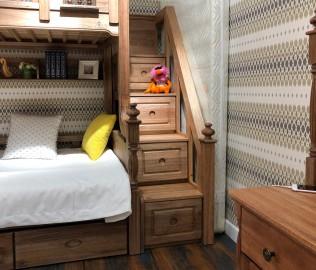 洛可小城,楼梯柜,儿童家具