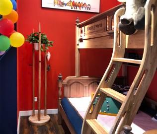 洛可小城,衣帽架,儿童家具