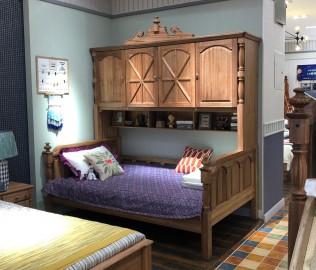 洛可小城,衣柜床,儿童家具