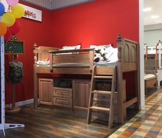 洛可小城,滑梯床,儿童家具
