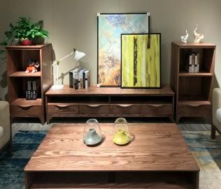 电视柜,客厅柜,白蜡木