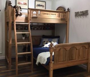 洛可小城,高架床,儿童家具