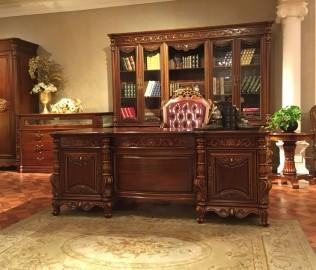晓月蕾曼,班台,书房家具