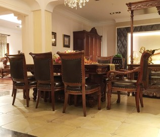 晓月蕾曼,餐椅,餐厅家具
