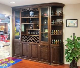 奥尔赛,定制家具,酒柜