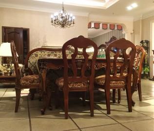 晓月蕾曼,餐厅组合,餐厅家具