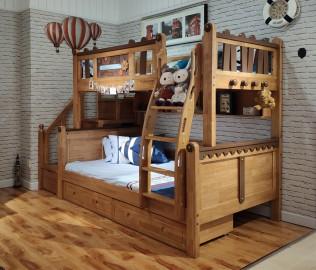 华钻,上下床,儿童床