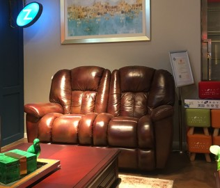乐至宝,双人沙发,客厅家具