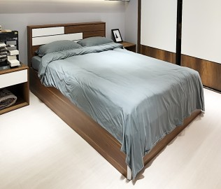 阿贝尼,床,木制家具