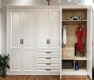 华美风情,整体衣柜,定制衣柜