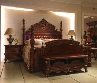 晓月蕾曼,床,卧室家具