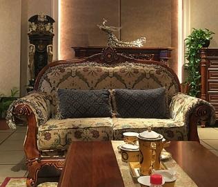 晓月蕾曼,双人沙发,客厅家具