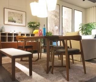 思利明兰,餐桌,餐椅