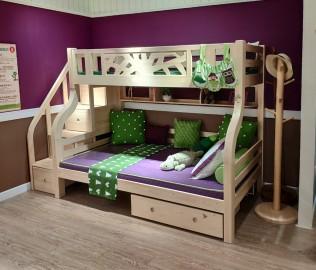 松果,上下床,儿童家具