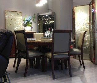 芝华仕,餐椅,餐厅家具