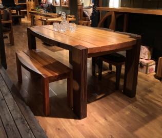 北欧艺家,一桌三椅,餐厅家具