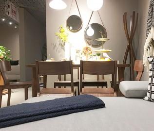 曲美家居,餐椅,实木餐椅