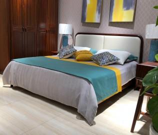 绿芝岛,双人床,卧室家具