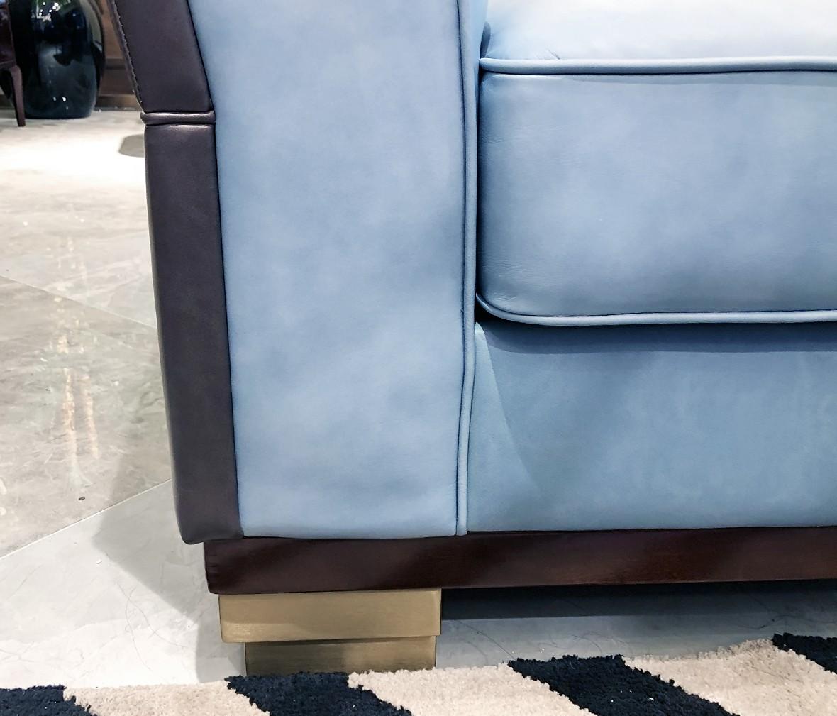 长实·轻奢 602型号1+2+3沙发 进口牛皮材质客厅沙发组合 图片、价格、品牌、评测样样齐全!【蓝景商城正品行货,蓝景丽家大钟寺家居广场提货,北京地区配送,领券更优惠,线上线下同品同价,立即购买享受更多优惠哦!】