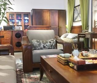 联邦家居,单人沙发,客厅家具