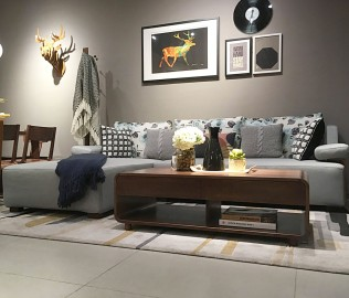 曲美家具,沙发,美人榻