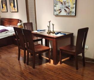 光明家具,一桌四椅,餐厅家具