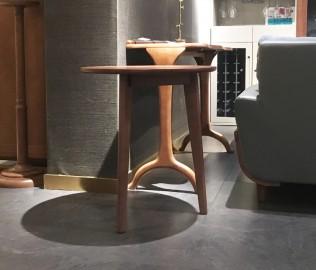 钛马迪,圆几,实木家具