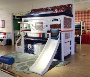 多喜爱,半高床,儿童家具