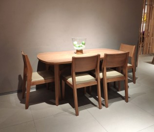 曲美,餐椅,椅子