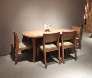 曲美,餐桌,桌子