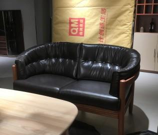 曲美家居,双人沙发,客厅家具
