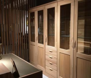 曲美家居,三门书柜,书房家具