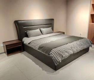 曲美,床,皮床