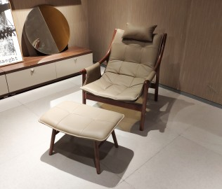曲美,休闲椅,椅子