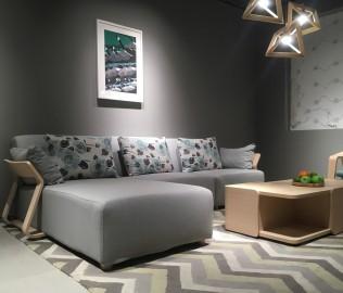 曲美家居,转角沙发,客厅家具