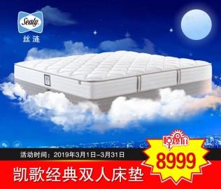 丝涟床垫,弹簧床垫,双人床垫