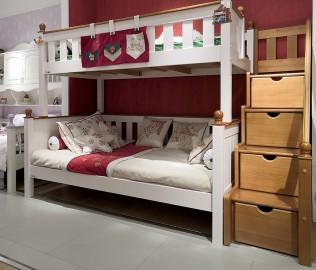 星星索,上下床,儿童床