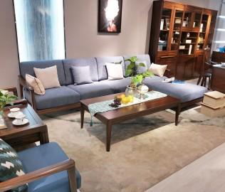 江南神龙,客厅套餐,实木家具