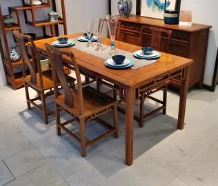 花梨君,餐桌,餐椅
