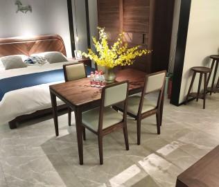 莫凡,一桌四椅,餐厅家具