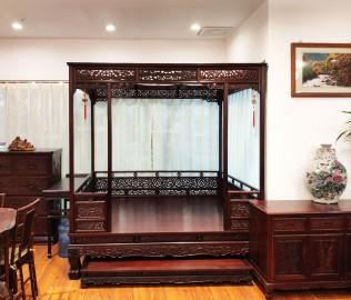 兴禄,架子床,卧室家具