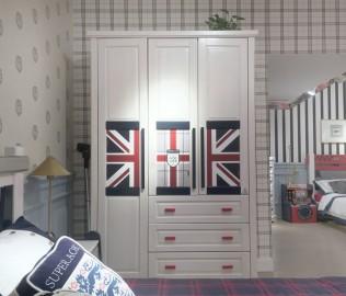 多喜爱,三门衣柜,儿童家具
