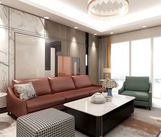 非同家居,三人沙发,皮沙发