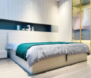 意风榴莲,高箱床,床
