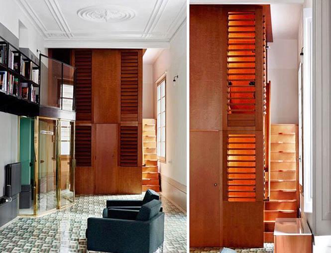 特殊建筑装修方案 三角公寓装修设计效果大图